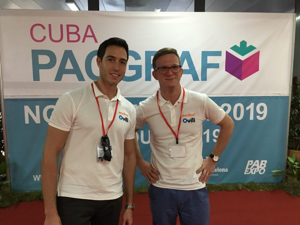 PacGraf Cuba 2017 - representation of Poland and Spain