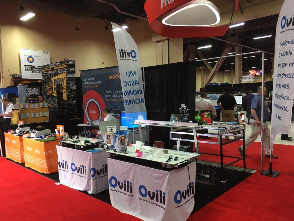 Ovili O-1302 Machine at ISA Show Las Vegas